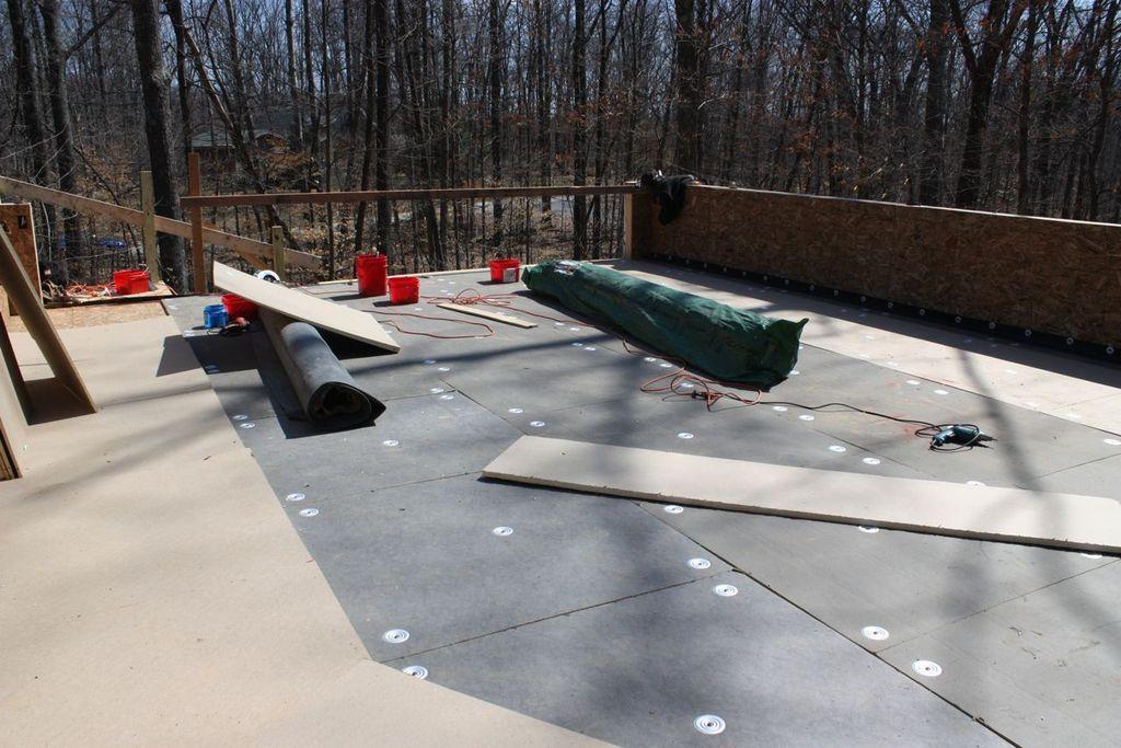 Ремонт крыши гаража