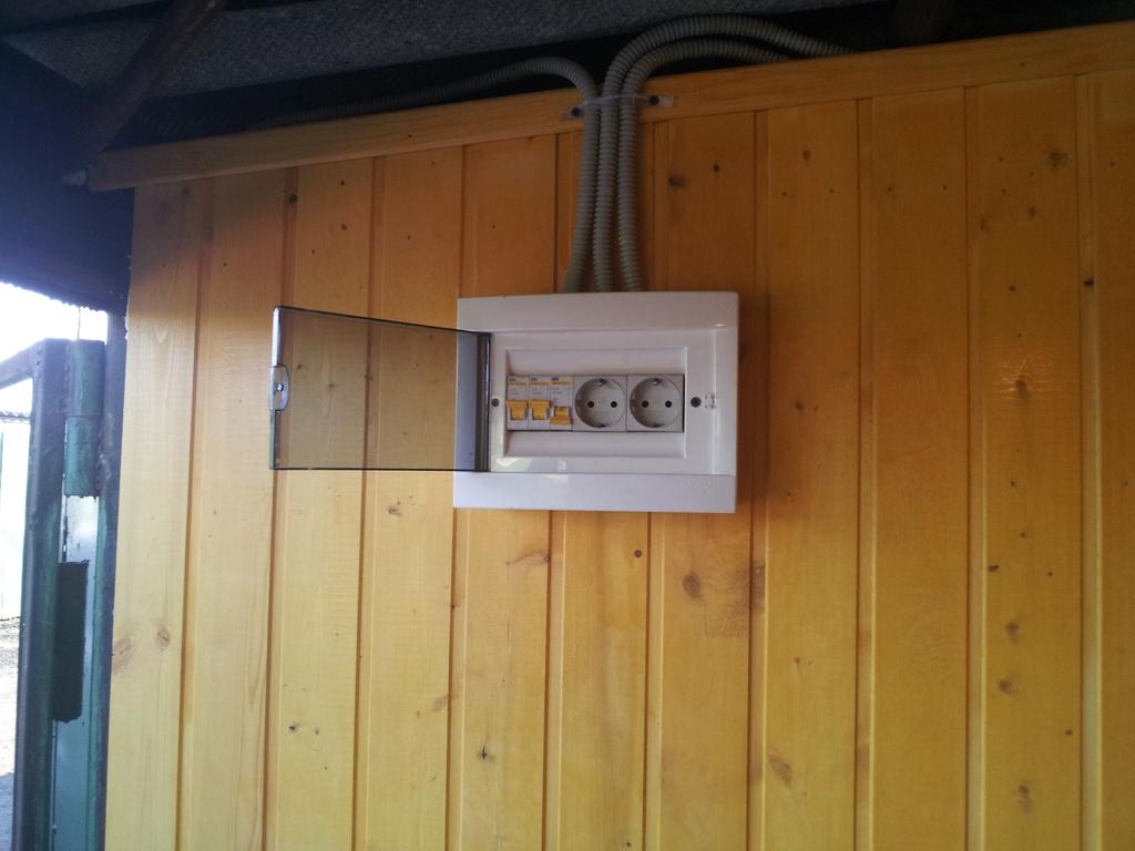 Электрификация гаража
